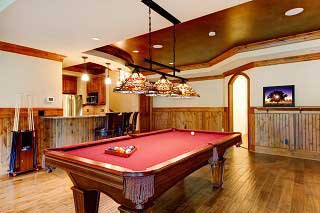 Experienced pool table installers in Akron