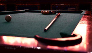 Professional pool table refelting in Akron