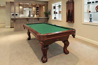 Skilled pool table movers in Akron